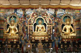 Buddhist monastery temple copy