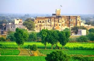 Fort Barli farm view