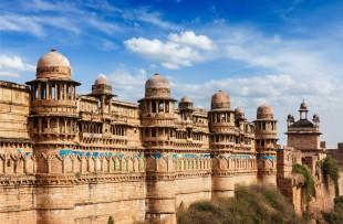 Gwalior | Gwalior fort. Gwalior, Madhya Pradesh, India copy