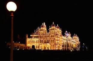 Mysore Palace at night copy