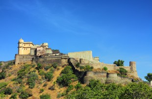 kumbhalgarh fort in rajasthan india copy