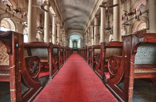 Beautiful Interior of St George's cathedral Chennai copy
