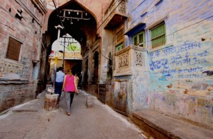 Guided walk through Jodhpur's 'Blue City' copy