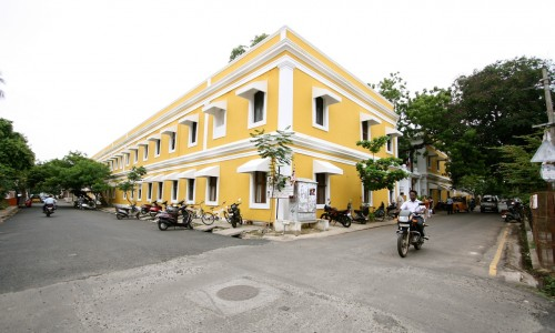 Pondicherry by Bicycle : India Holiday Architects