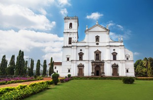 Se cathedral in Old Goa, Goa state, India copy