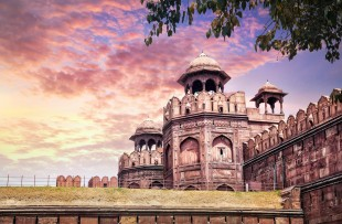 THE RED FORT AT SUNSET, DELHI copy