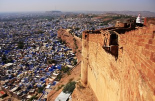 VIEW OF JODHPUR FROM MEHRANGARH FORT  copy