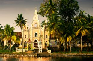 church in the backwaters of kerala copy