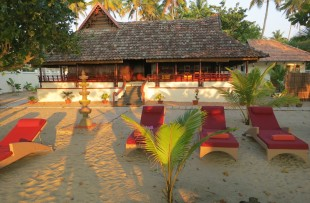 Veena Beach Villa exterior, Marari Beach